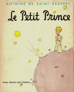 Le petit prince - First edition cover - 1943
